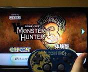 【Wii】モンスターハンター3‐Tri<br />  ‐体験版