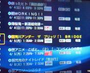 【アニメ】2010<br />  年春アニメ録画スケジュール