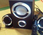 【SONY】アクティブスピーカーシステム・<br />  SRS-D211設置完了!