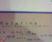 【LIVE】Kal<br />  afina After Eden Special LIVE 2011 AT TOKYO DOME CITY HALL