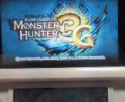 【3DS】モンスターハンター3G with <br />  拡張スライドパッド駆け出し狩猟人編①キャンプ修理クエストクリア♪