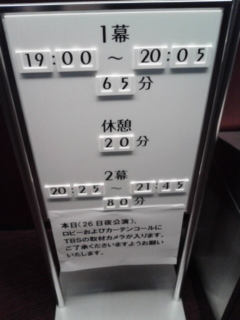 [舞台]ネタばれ・堀北真希 9days Queen <br />  〜九日間の女王〜初日