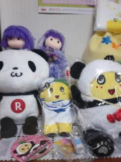 [ヤマシロヤ]<br />  春のパンダ祭りパンダふなっしーが江戸っ子ハウスにやって来たゾ(<br />  笑)