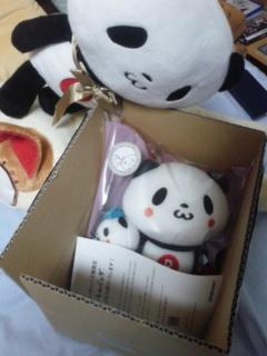 [ぬいぐるみ]<br />  お買いものパンダプレミアムグッズが江戸っ子ハウスにやって来たゾ!
